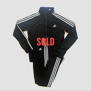 Adidas black suit